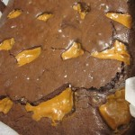 Dulce de Leche and Sea Salt Brownies Recipe