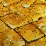 Savoury Brie and Walnut Baklava