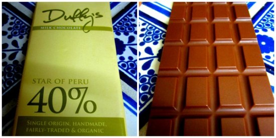 Duffy's Star of Peru 40% Milk Chocolate - www.foodnerd4life.com