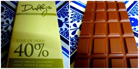 Duffy's Star of Peru 40% Milk Chocolate - www.foodnerd4life.com