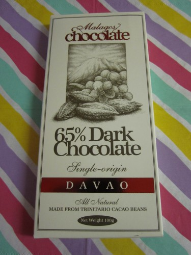 Malagos 65% Dark chocolate Wrapped - www.foodnerd4life.com