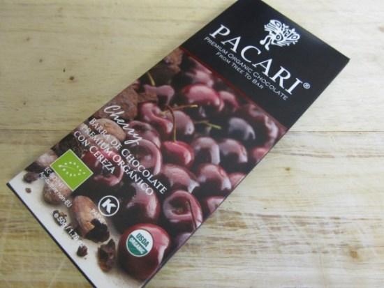 Pacari Cherry 60% Chocolate Bar - www.foodnerd4life.com