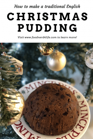 Christmas Pudding Recipe Pin - www.foodnerd4life.com