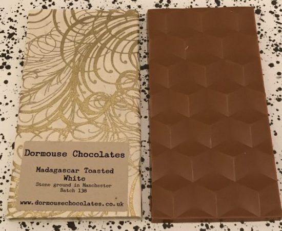 Dormouse Toasted White Chocolate Bar - www.foodnerd4life.com