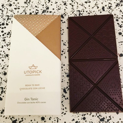 Utopick Gin and Tonic Chocolate Bar - www.foodnerd4life.com