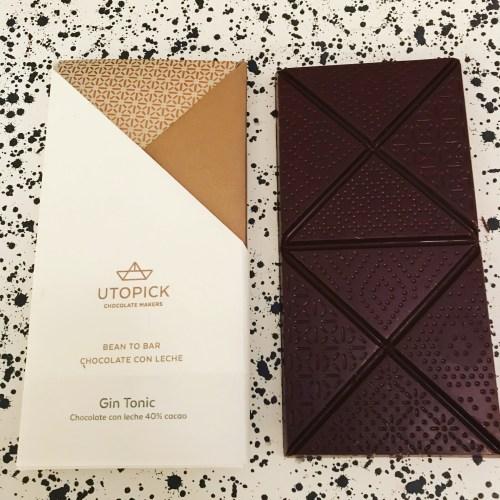 Utopick Gin and Tonic Chocolate Bar - www.foodnerd4life.com