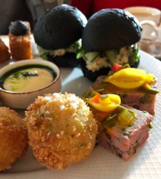 Savoury Dishes at The Salt Room, Brighton, Afternoon Tea
