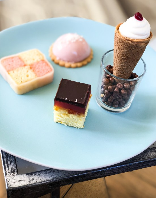 Dessert Plate at Slaughters House Manor, Cotswold - foodnerd4life