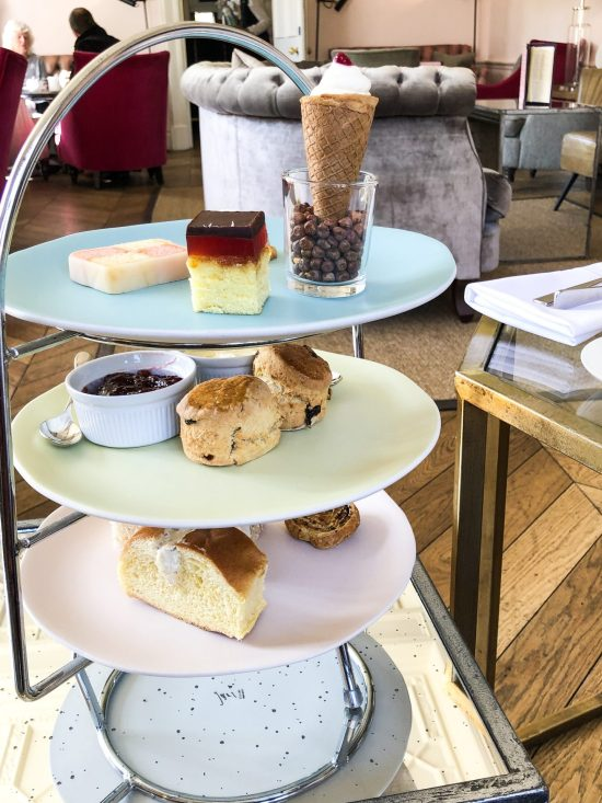 Full Afternoon Tea at Slaughters Manor House, Cotswold - foodnerd4life
