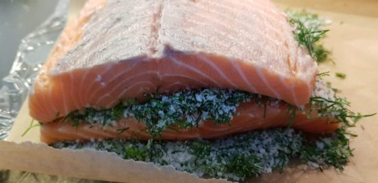 Homemade Gravlax with Salt Cure - foodnerd4life