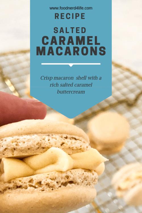 salted caramel macaron pin
