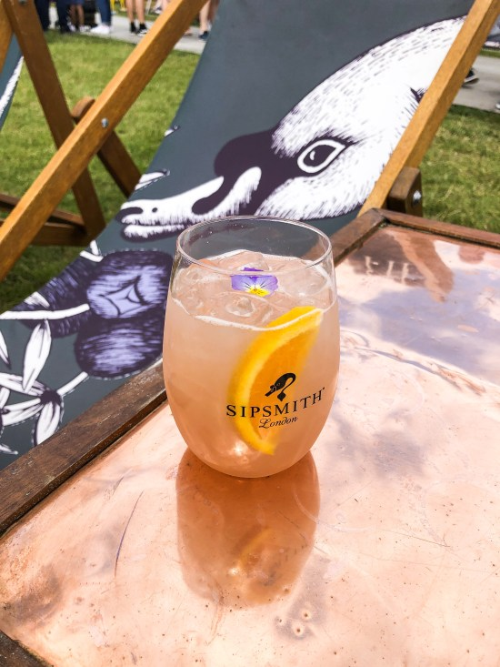 Sipsmith Sloe Gin with Bitter Lemon - Taste of London 2019 - www.foodnerd4life.com
