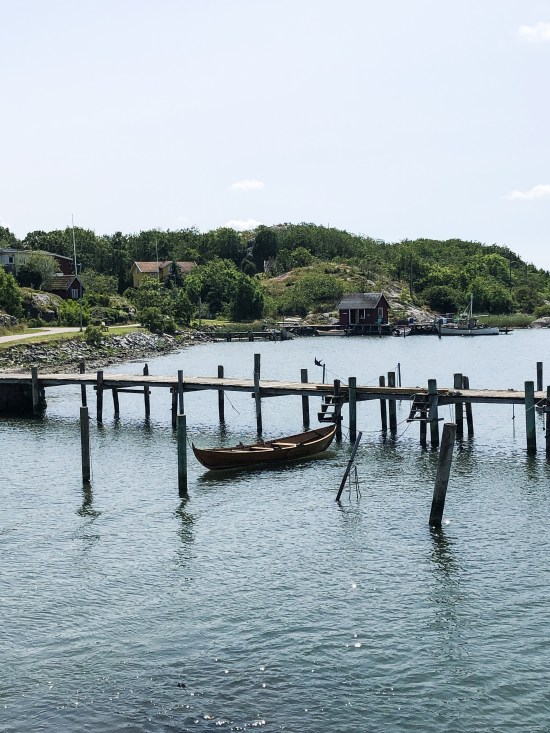 Floating Boat on Branno Island, 10 Things To Do and See in Gothenburg - www.foodnerd4life.com