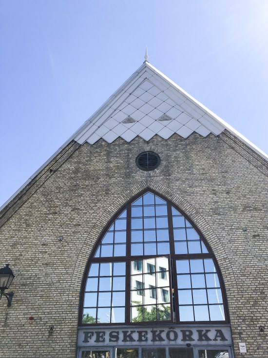 Front of the Fish Church – Feskekôrka, Top 10 Things to Do and See in Gothenburg, Sweden - www.foodnerd4life.com