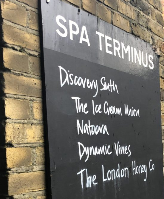 Spa Terminus Sign - www.foodnerd4life.com