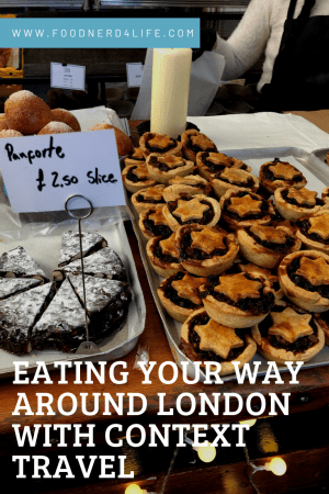 Food Tour With Context Travel Pin