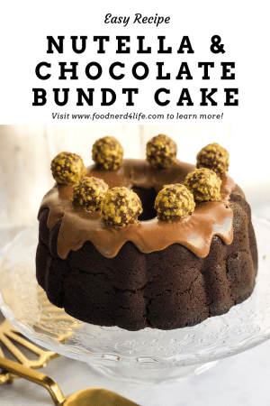 Nutella and Chocolate Bundt Cake Pin