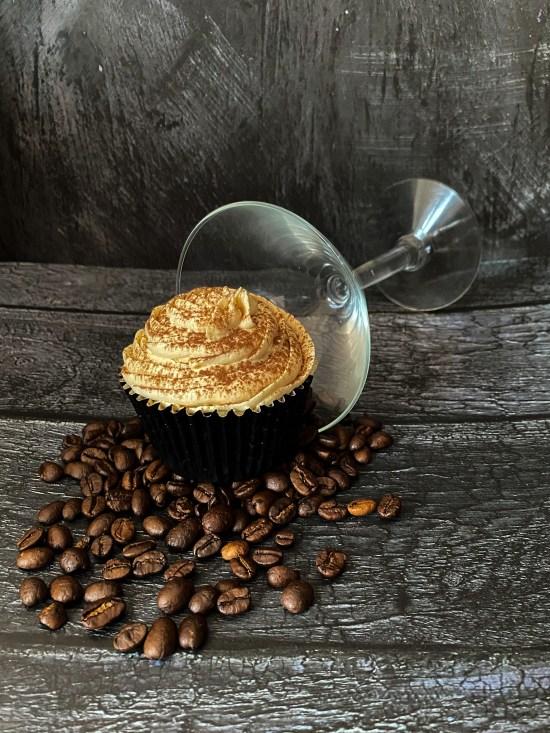 Espresso Martini Cupcakes - www.foodnerd4life.com