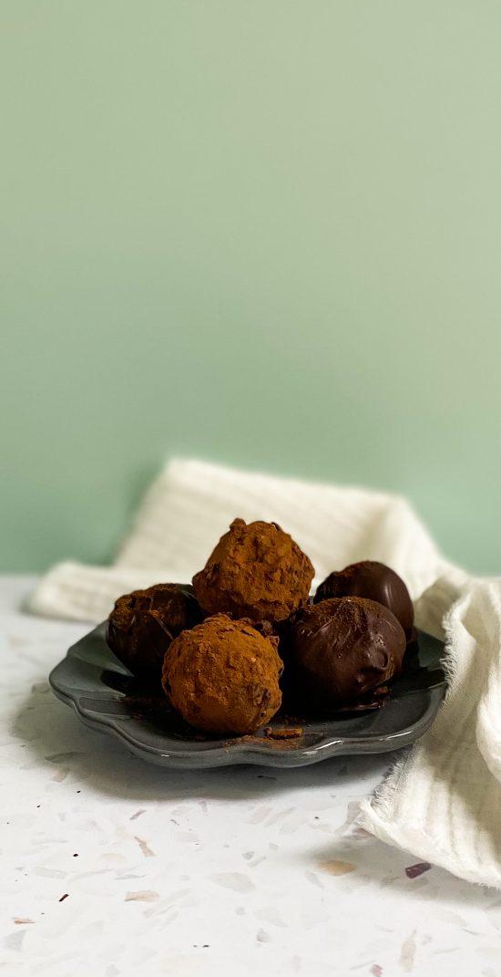 Vietnamese Coffee Truffles Recipe -www.foodnerd4life.com