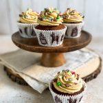 Gingerbread Cupcakes Recipe - www.foodnerd4life.com