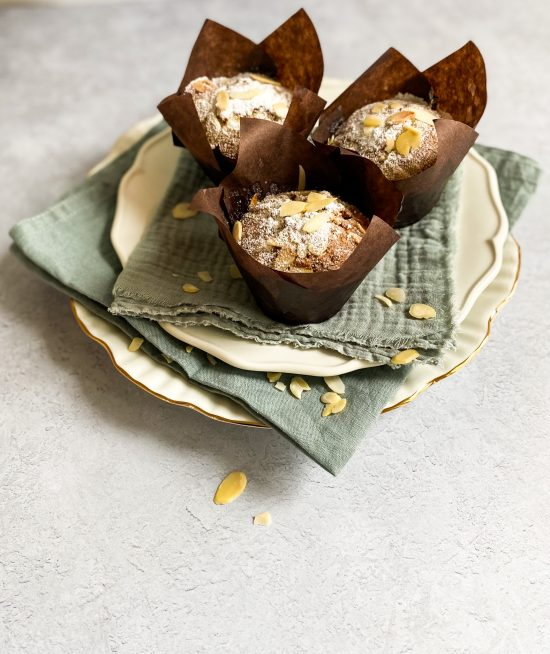 Stollen Muffin Recipe - www.foodnerd4life.com