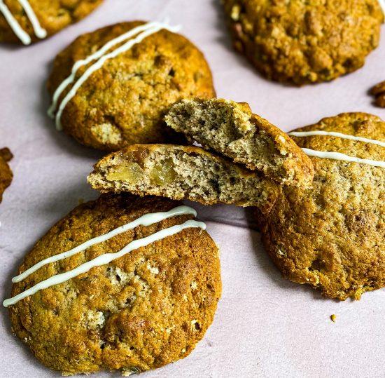 Hummingbird Cake Cookies Recipe - www.foodnerd4life.com