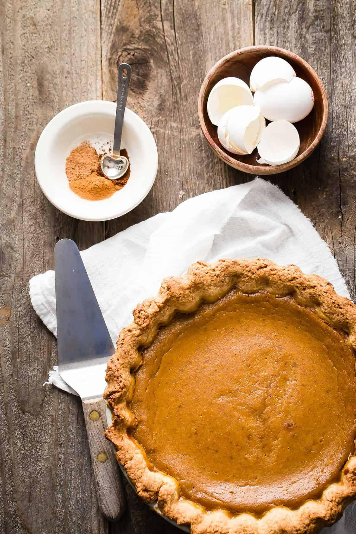 Classic Pumpkin Pie  Foodness Gracious