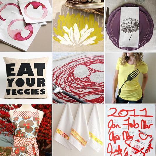 Shopping Gourmand, Nov. 29th 2010: Linens