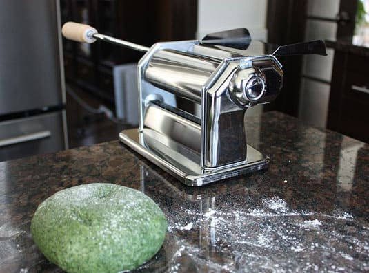 This past January, a pasta-rolling machine appeared in my kitchen.