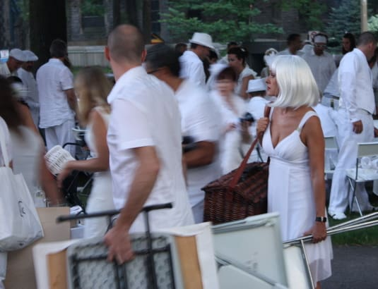 Dîner en blanc, August 18th 2011, Montreal