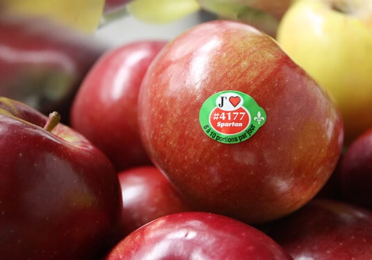 I (heart) Quebec's apples!