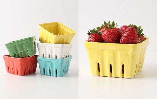 Farmer's Market Baskets, via Anthropologie