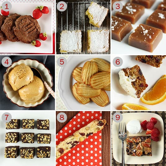 Last Minute, Quick and Easy Sweet Recipe Ideas