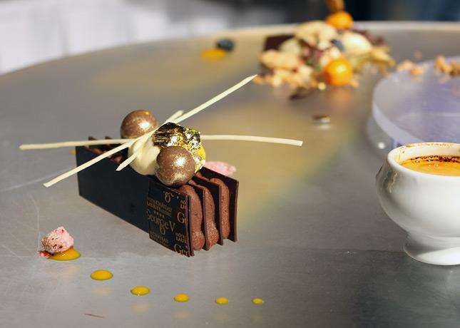 A sweet creation by Pastry Chef Sébastien Camus (Hôtel Château-Laurier).