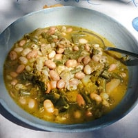 Soupe au pistou, Ann's favorite dish in Provence.