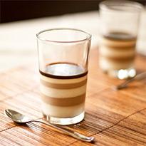 Vietnamese Ice Coffee Panna Cotta by Zoe Bakes