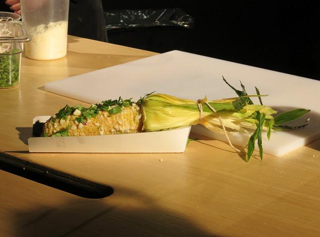 Grumman 78's famous corn on the cob by chef Marc-André Leclerc / FoodNouveau.com
