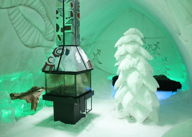 Ice Hotel, Quebec City: A Guest Room // FoodNouveau.com