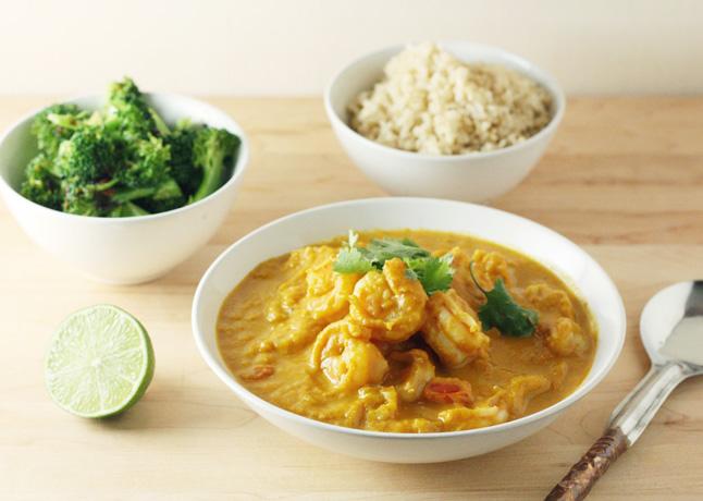 Pumpkin-Shrimp Curry