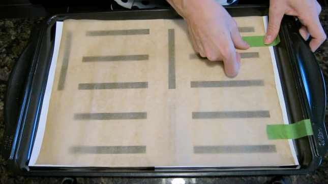 Using templates to help shape perfect éclairs // FoodNouveau.com