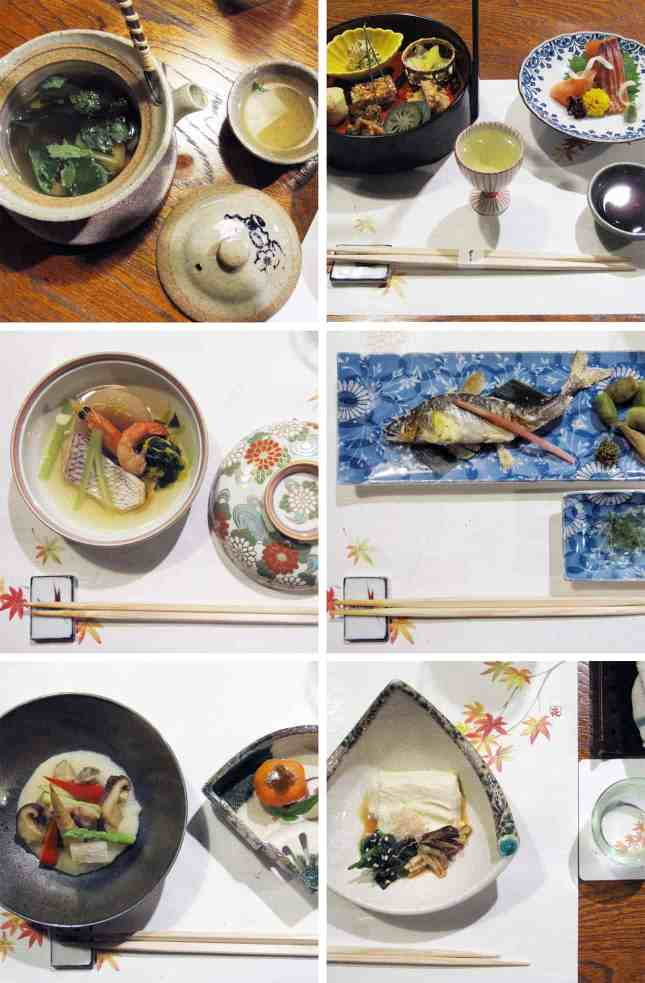 A preview of the kaiseiki (multi-course) dinner at Seryo, a ryokan (Japanese inn) in the Ohara region of Japan, an hour north of Kyoto. // FoodNouveau.com