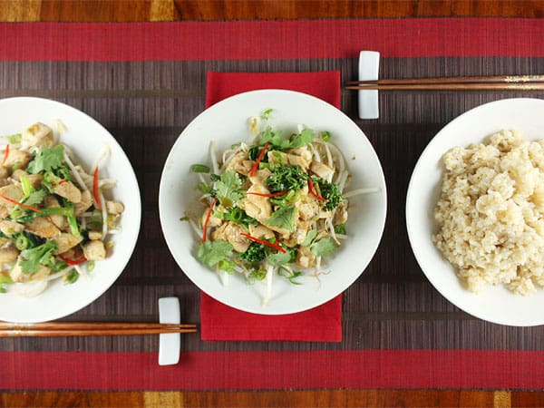 Ginger and Fish Stir-Fry