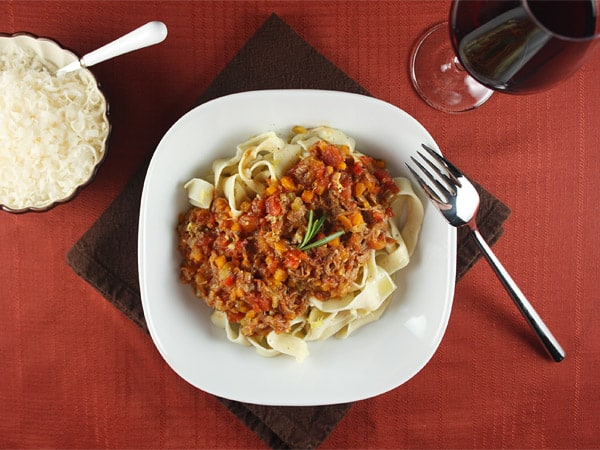 Pappardelle with Osso Buco Sauce // FoodNouveau.com