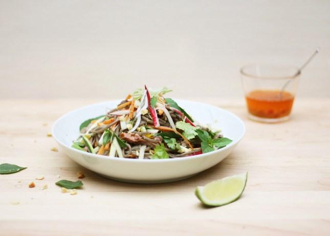 Freestyle Asian Noodle Salad // FoodNouveau.com