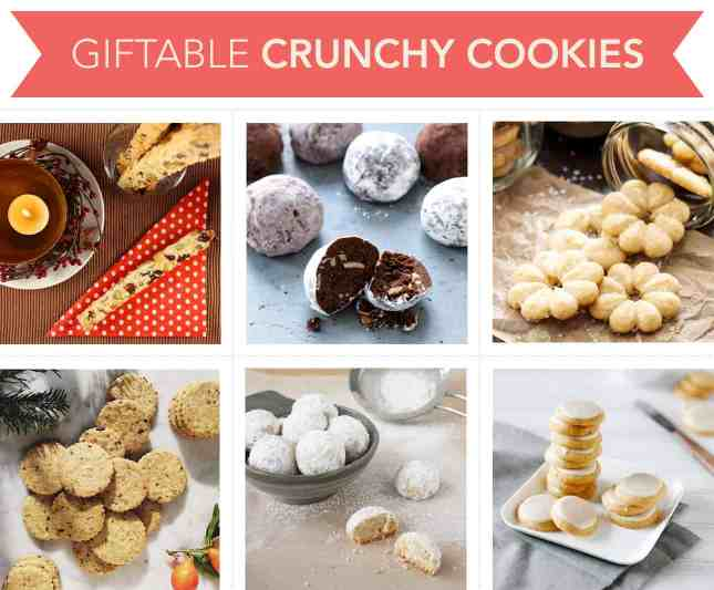 Giftable Crunchy Cookies // FoodNouveau.com