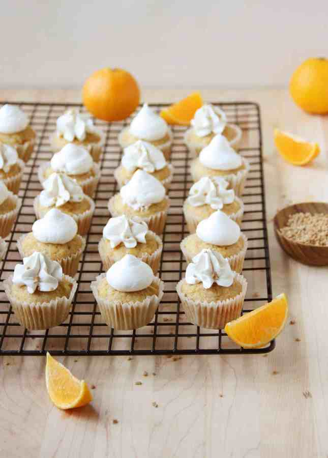 Squash and Clementine Cupcakes with Maple Swiss Meringue Buttercream // FoodNouveau.com