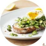Asparagus, Soft-Boiled Egg, and Dukkah Tartine // FoodNouveau.com
