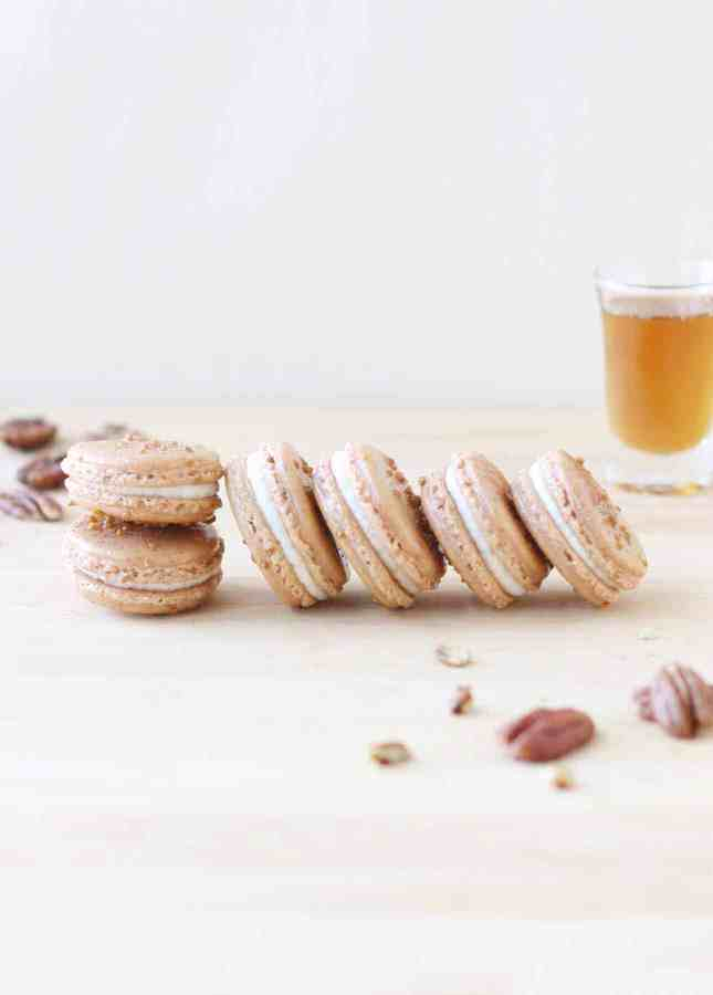 Maple and Pecan Macarons // FoodNouveau.com