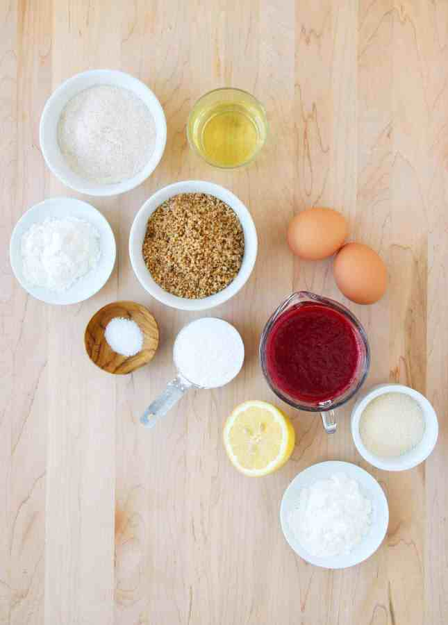 Ingredients to Make Fruit Square Recipes for All Seasons: A Versatile Formula to Turn Seasonal Bounty into Delightful Treats (Dairy-Free, Gluten-Free Options) // FoodNouveau.com