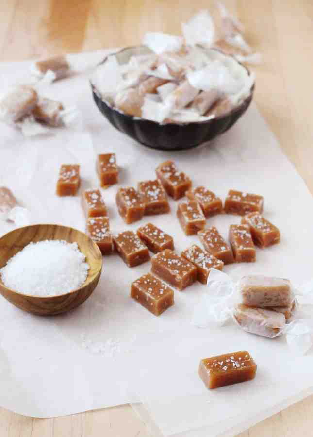How to Make Salted Butter Caramels // FoodNouveau.com